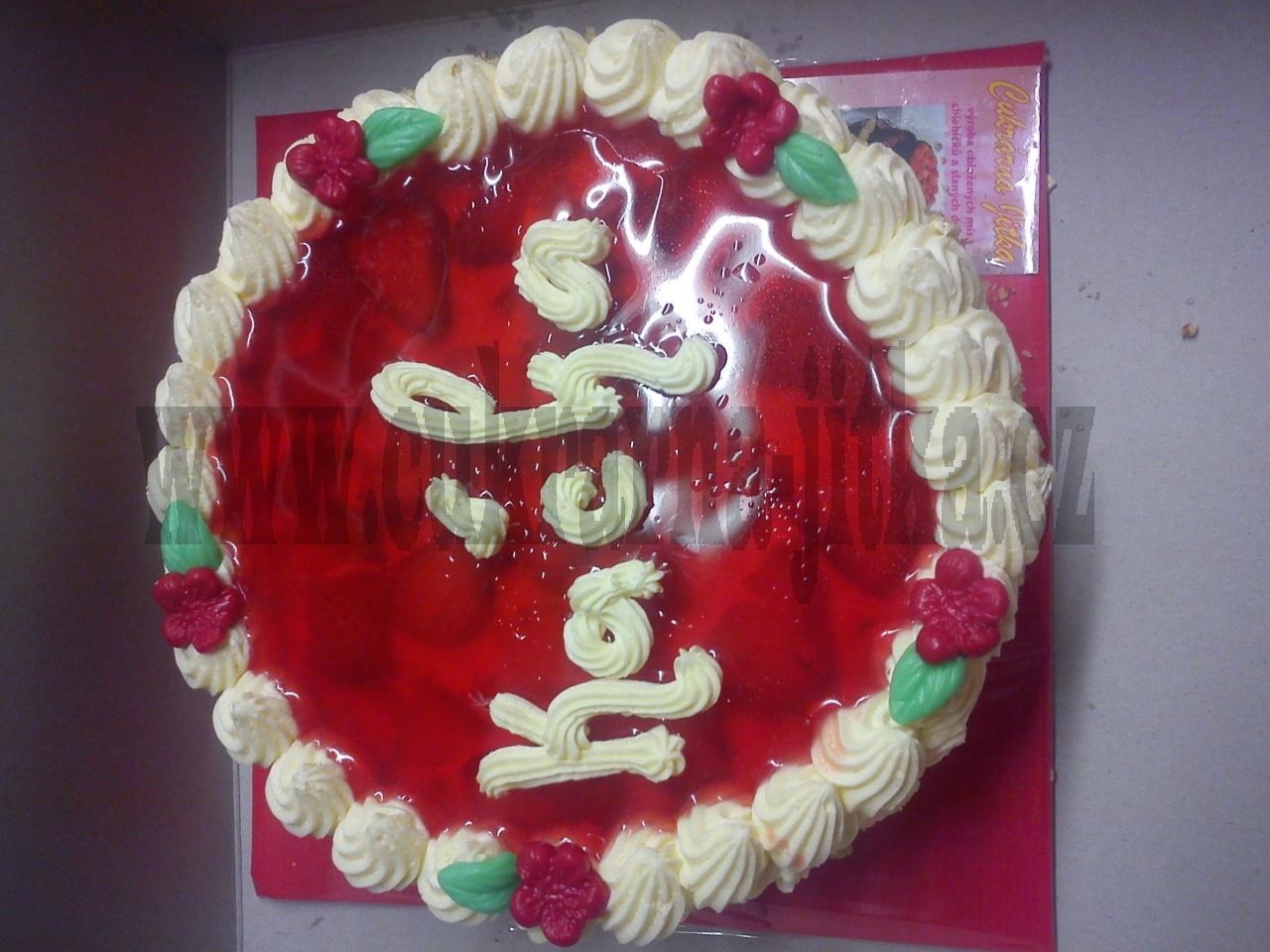dort kulatý jahody ,želé
