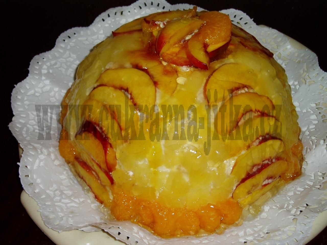 ovocná koule   ananas,mandarinka,broskev,     č.214