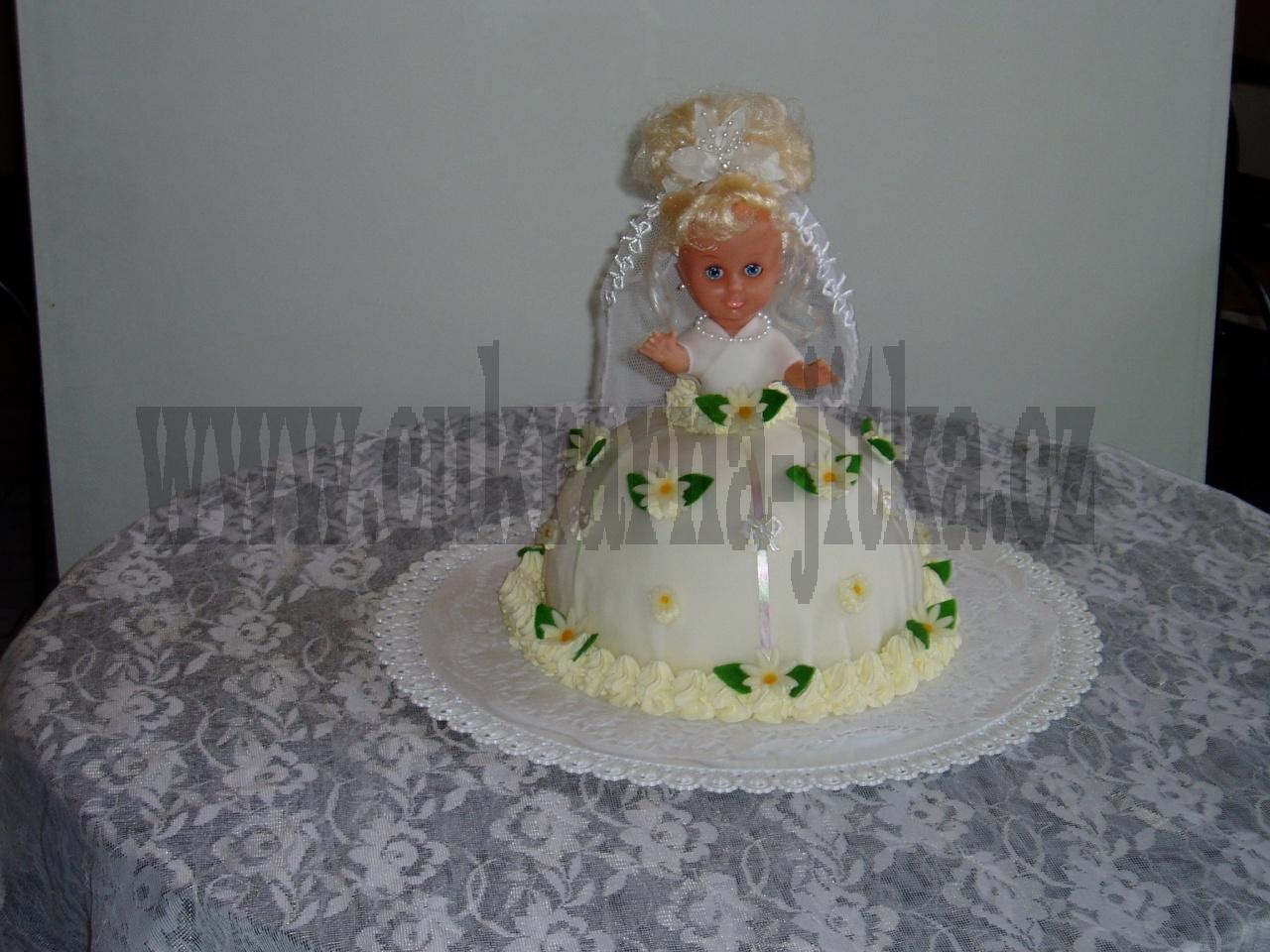 svatební dort nevěsta     č.42