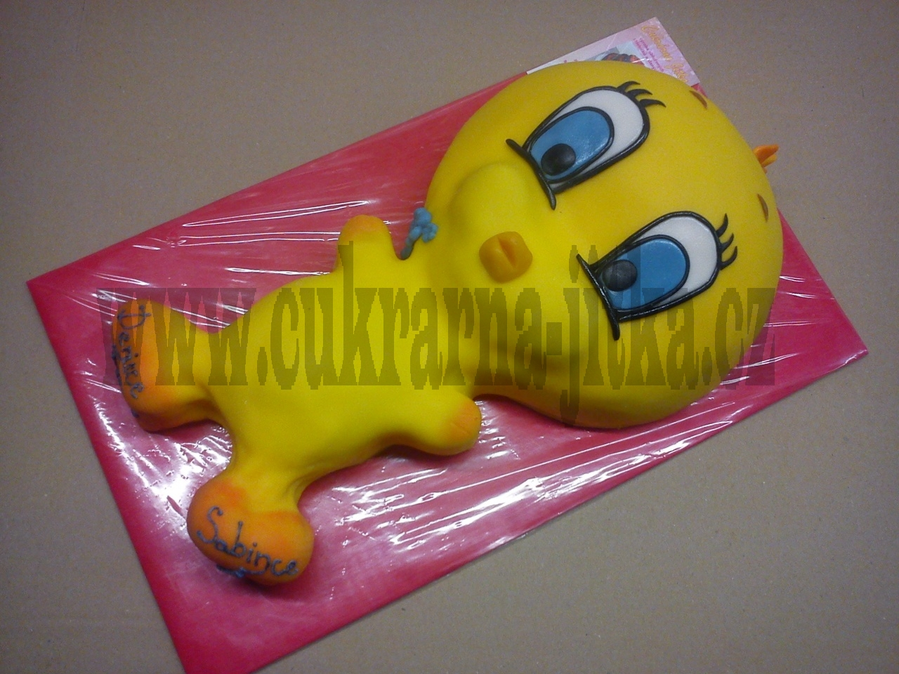dort - žlutý kanáre Twity