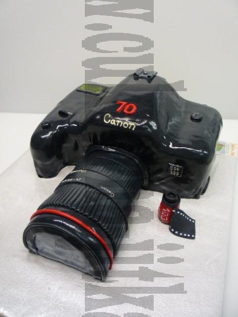 velký fotoaparát Canon