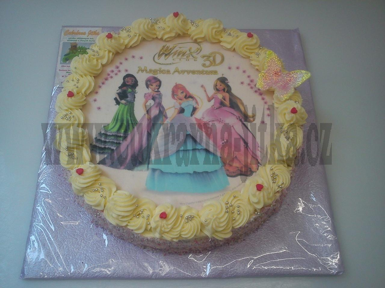 dort s jedlým papírem - víly Vings