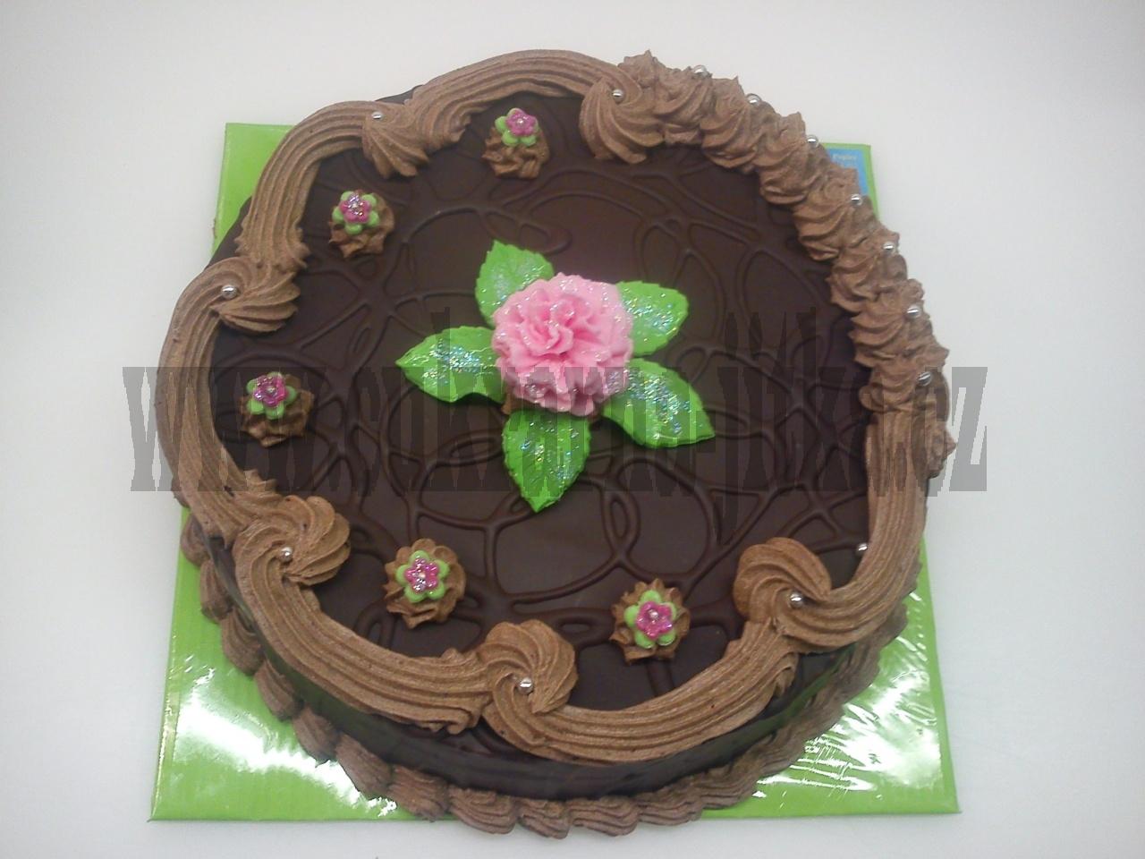 dort celý v čokoládě