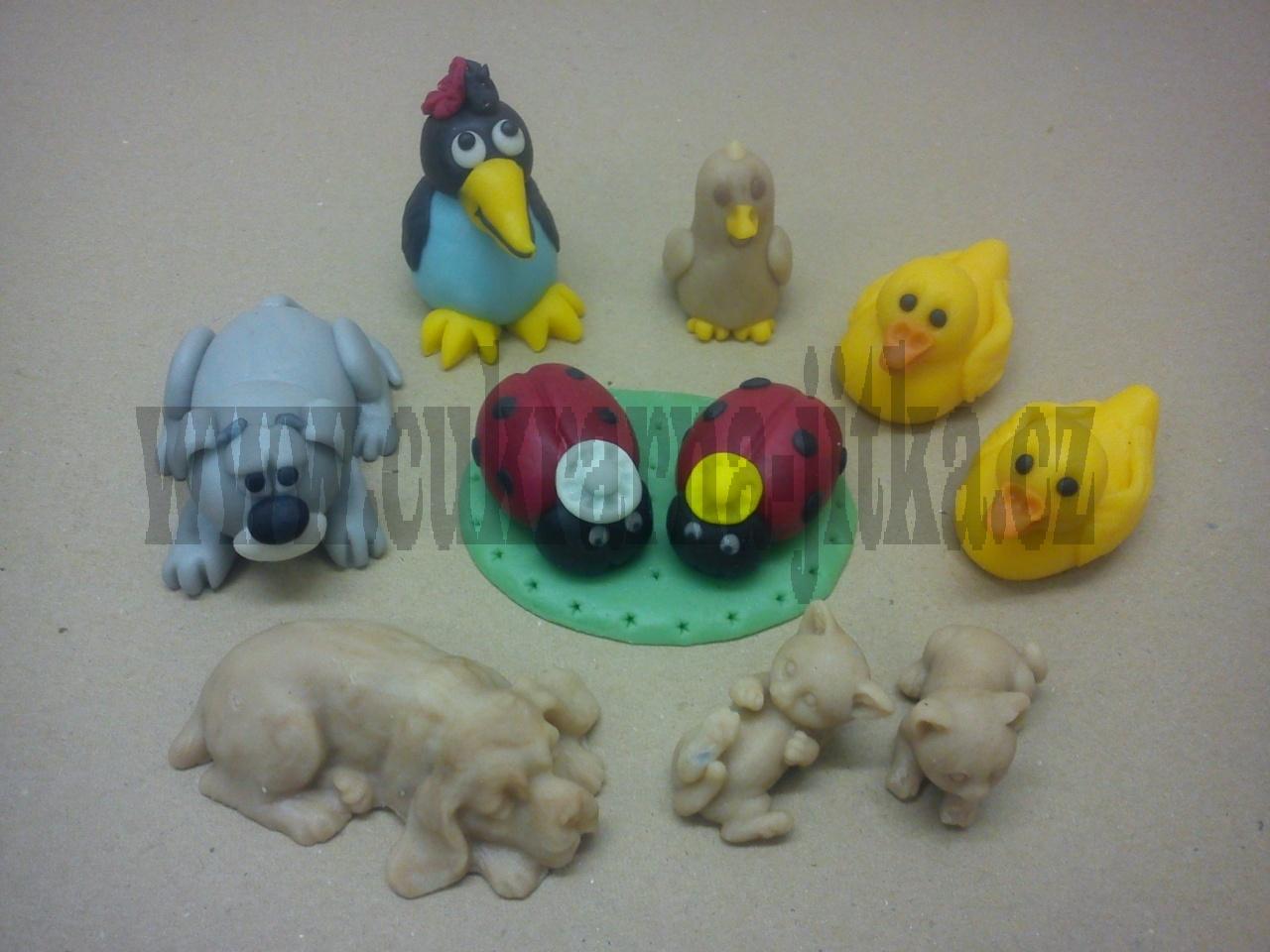 figurky marcipánové mix