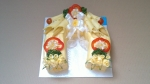 slaný svatební dort podkova