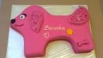 dort růžový pejsek