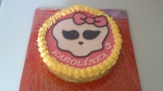 dort Monster vrch růžová čokoláda