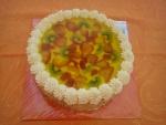 dort ovocný kulatý kiwi,jahody,želé   č.489