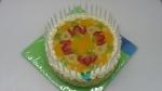 dort kulatý ovocnýkiwi,banán,mandarinka,jahody,želé    č.679
