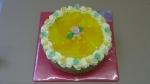 dort ovocný kulatý mandarinka,ananas želé     č.650
