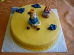 dort s figurkou - požárník Sam