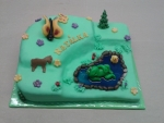 dort palouček s rybníčkem