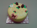 dětský dortík s beruškami