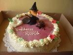 čarodějnice na kulatém dortu    č.431
