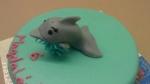 marcipánový delfín