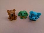 marcipánový medvídek,žába,slon