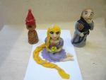 marcipánová figurka Locika,věž,baba