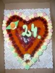 srdce dort  III.  želé+ovoce    č.50