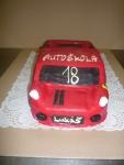 dort  červené auto ferrar    i č.383