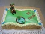 kniha otevřená dort - rybář     č.307