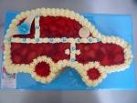 auto dort vrch želé + ovoce  č.342