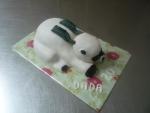 zvířátko dort, králík I.