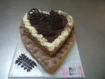 srdce dort dvě patra, těžká paříž, krém    č.320