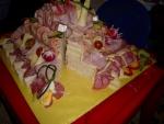 Slaný dort 3 patra 5,5 kg