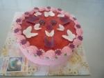 svatební dort kulatý dětský    č.353