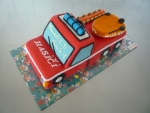 hasičské auto dort  č.357