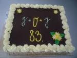 dort čtverec vrch čokoláda