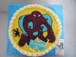 spiderman dort kulatý, banánová příchuť   č.220