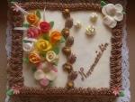 svatební dort kniha otevřená