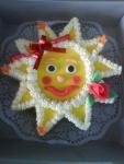 dětský dort sluníčko, bok ořech č.252