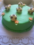 dort kulatý  fotbalové míče marcipánové    č.257