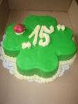 dort čtyřlístek celý v marcipánu     č. 432