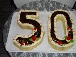 číslice dort vrch čokoláda    č.32