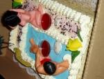 pro dospělé dort , obdenik