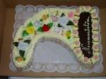 svatební  dort  roh hojnosti  č.158