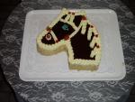 zvířátko dort hlava koně   č.41