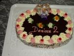 dort ovál  vrch čokoláda s panenkou    č.36