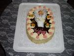 dort ovál  křtiny s miminkem II.    č.34