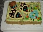 palouček  ježci dort       č.037