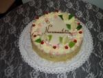 svatební dort kulatý     č.059