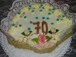 vějíř dort vrch marcipán     č.090