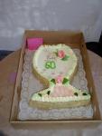 pohár číše dort vrch bílá čokoláda     č081