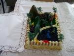 dinosauří  prales dort  č.7