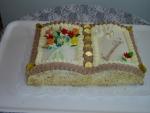 svatební dort  kniha otevřená III.    č.49