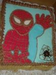spiderman dort - vrch marcipán    č.217.