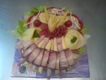 slaný dort kulatý      O 23cm -  2kg